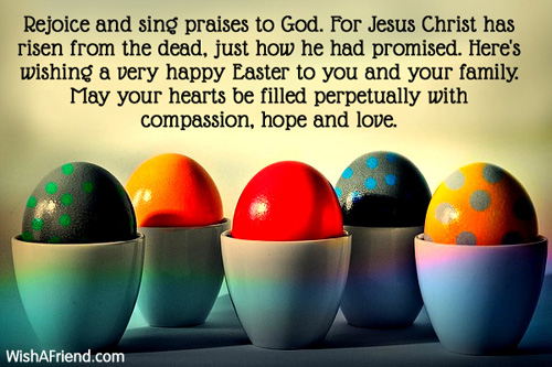 easter messages 2021