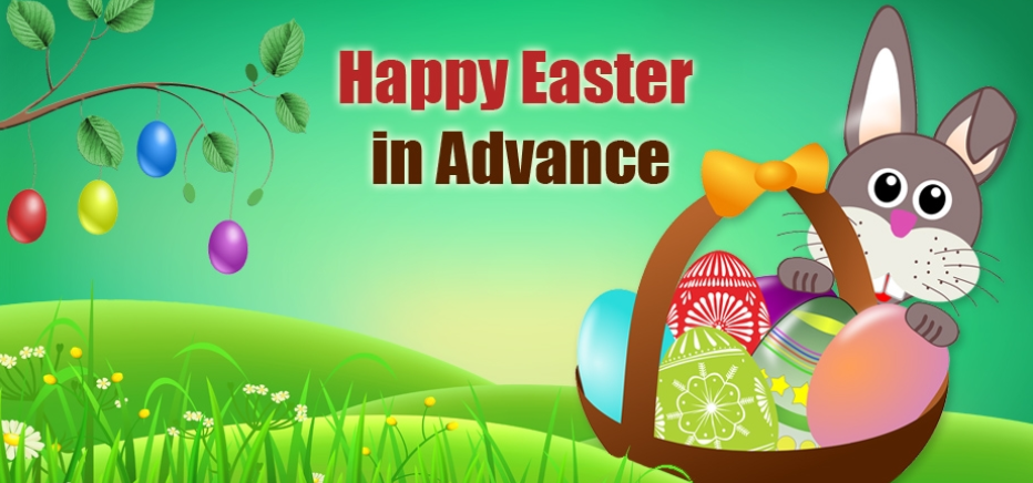 Happy Easter Holidays 2019