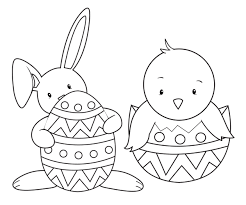 easter coloring page images