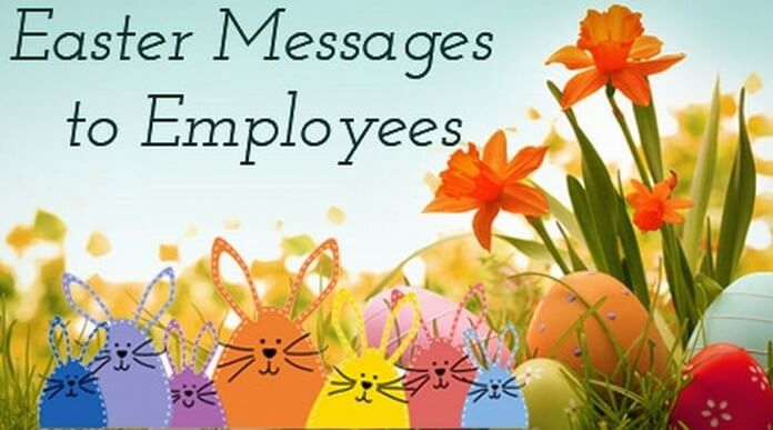 employees easter message