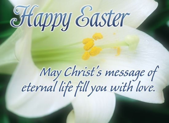 happy easter greetings