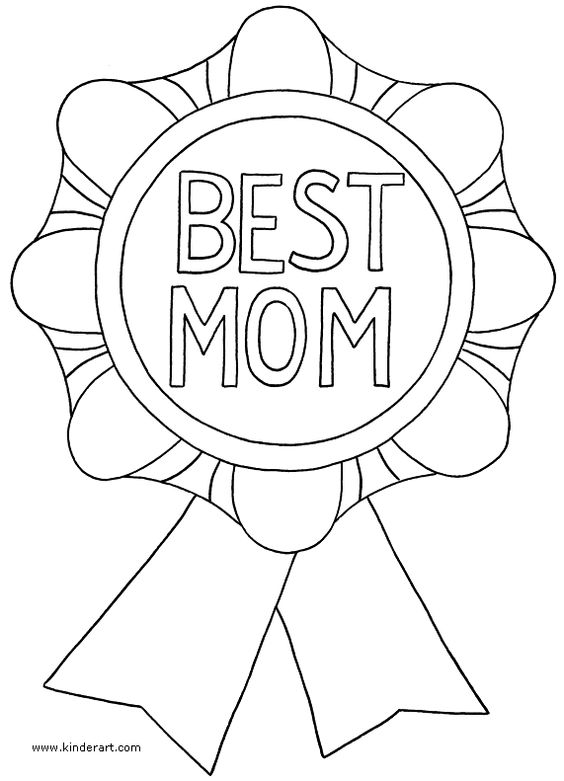 Mothers Day Coloring Page Free Printables