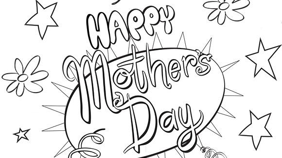 Mother Day Coloring Sheets 2019