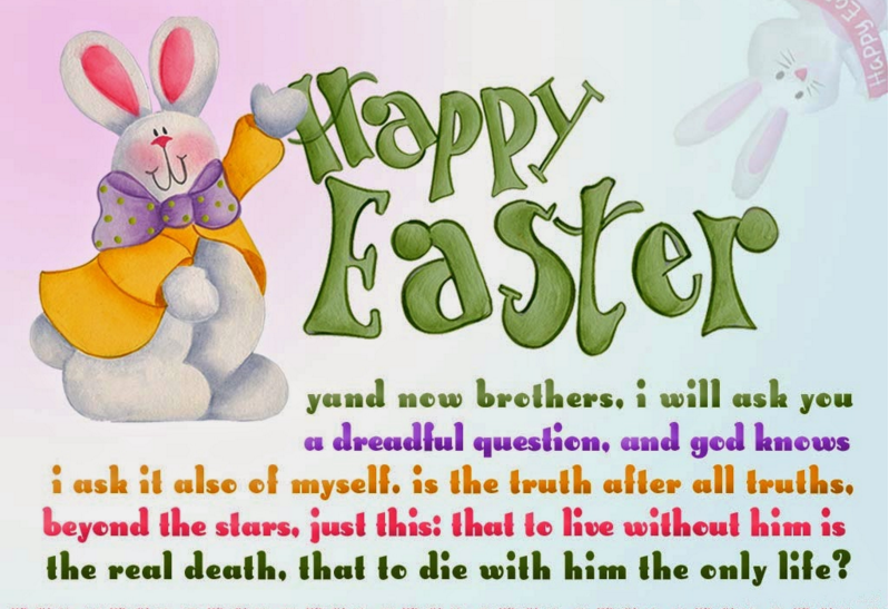 Happy Easter Message 2021