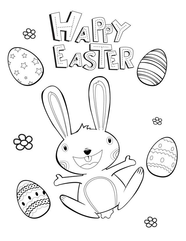 Coloring Pages of Easter
