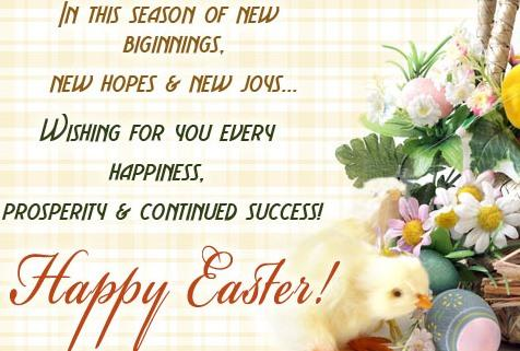 Message For Easter