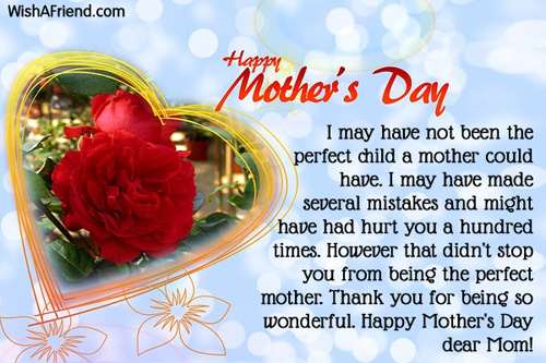 Happy Mothers Day Messages 2019