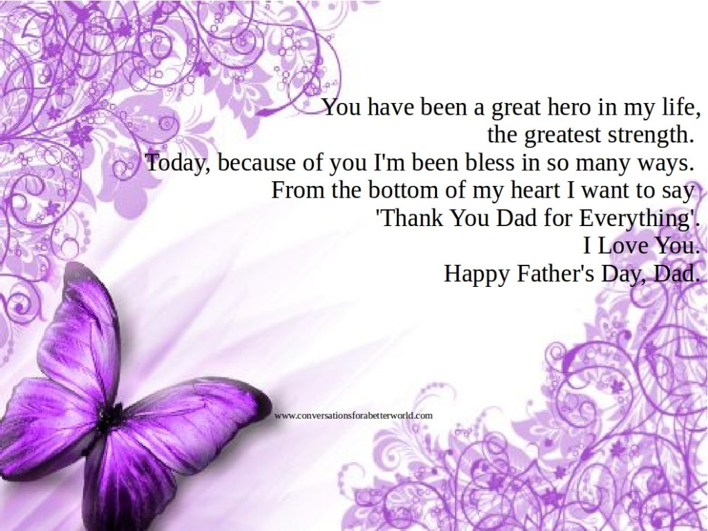 greetings message for fathers day