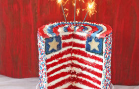 4th of July birthday cakes