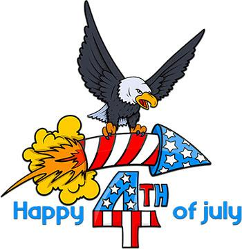 Happy 4th of July Clipart 2020