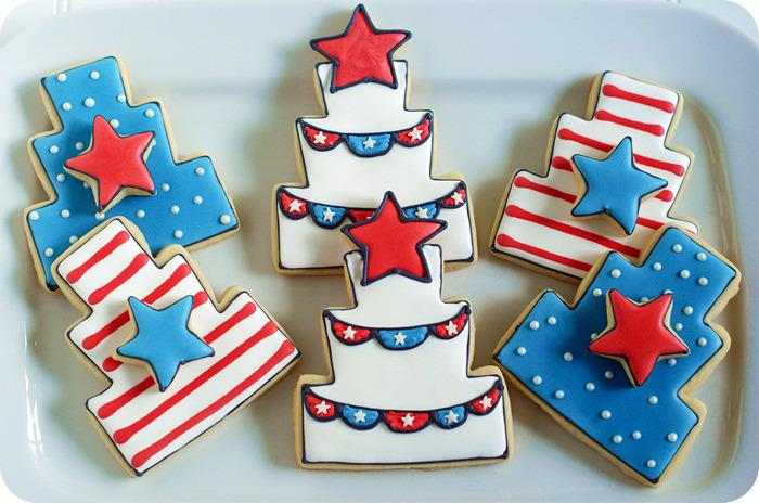American Independence day Cupcakes Cakes