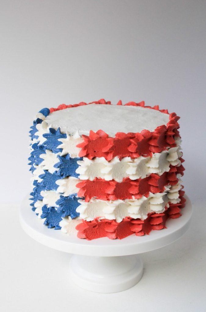easy 4th of July cakes