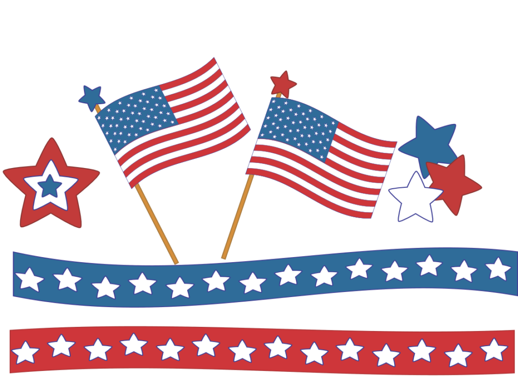 clipart 4th of July