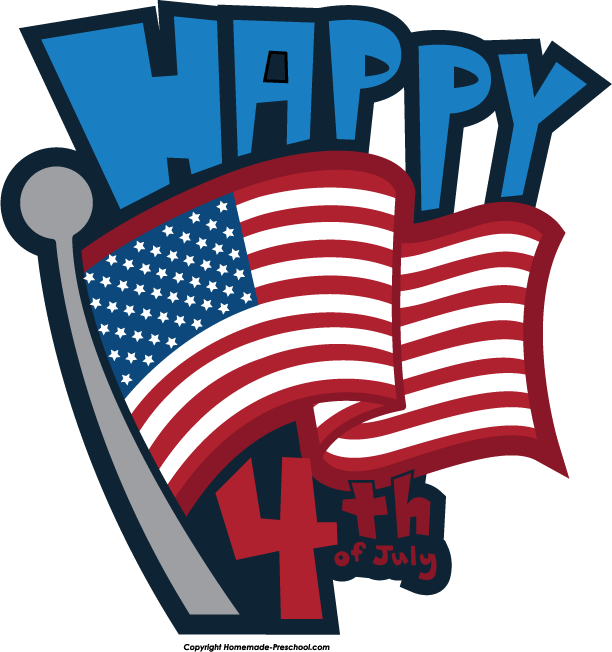 Happy 4th of July Clipart 2019