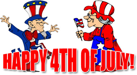 Happy 4th of July 2019 Clipart