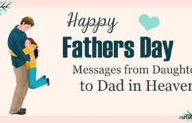 fathers day messages from daughter to ad in heaven